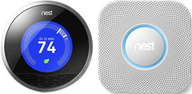 Nest Protect and Nest Thermostat